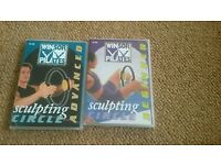 Winsor Pilates DVDS and sculpting circle