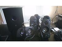 Speakers logitech z506