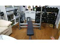 Brand new Commercial Olympic flat bench cost new £800