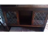Traditional dresser top