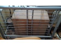 Metal Frame single Bed Good condition