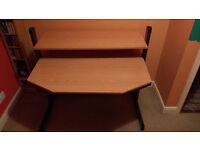 Two Tier Height Adjustable Desk