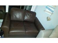 Ikea Brown Sofa/Settee