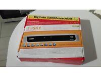 German Digitaler Satellitenreceiver box|