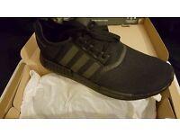 Adidas NMD R1 Triple Black UK 13 BRAND NEW (NEVER WORN)