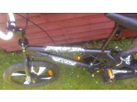 """2 BMX bikes - XN BMX 20"""" 4 Spoke MAG wheel freestyle Bike plus 20"""" HARO BMX"""