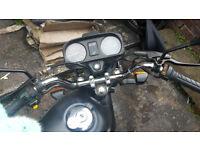 motorbike Honda CG125 2001