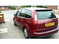 automatic ford focus cmax