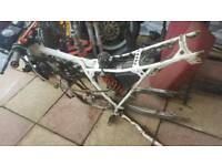 Honda mtx frame and many other parts