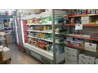 2 meter open deck fridge