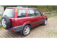 1998 Honda CR-V 2.0 ES Automatic Red 4x4