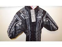 wulfsport jacket motocross motox quad kids youth black size 26 approx age 5