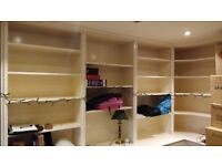 Custom Built Shelving and Cupboards - Great Storage Solution