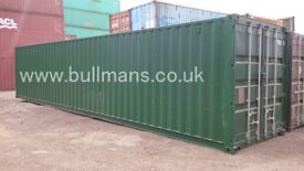 40ft - refurbished / repainted shipping container, steel container, storage container for sale