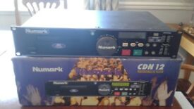 Numark cdn12 cd deck