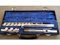 Gemeinhardt Silver Flute 2ESP with original Case - Good working condition