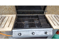 Outback Spectrum 3 burner barbecue with gas
