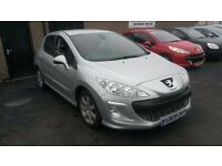 2009 peugeot 308 new shape model hdi diesel cheap to run px welcome
