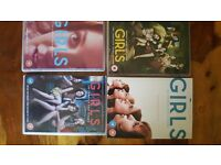 Girls. series 1- 4 on dvd