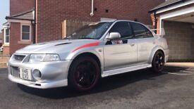 Mitsubishi Evolution GSR number plate included