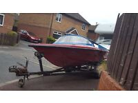 Boat Trailer with SpeedBoat