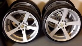 19 inch Apollo wheels for BMW