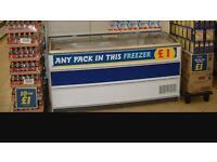 Chest freezer farm food used