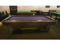 Sam Billards 9ft american pool table