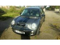 Mini cooper s low milage for age gunmetal grey with upgraded alloys