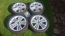 Skoda 18 Inch Alloy Wheels x 4, Good Condition