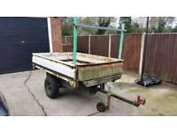Car trailer ideal for builder tip runs etc.
