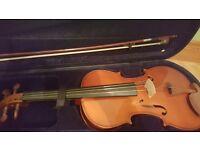 Natural Color 4/4 Full Size Viola