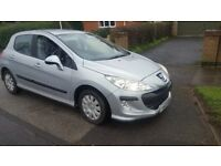 PEUGEOT 308 1.6HDI S ONLY 69K