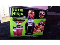 Nearly New Nutra Ninja Juicer only used twic. Still in box with all extras included. £30 o.n.o