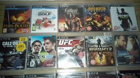 Playstation 3 games all in good con message for more info