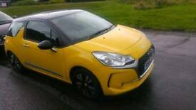 Citroen ds3 1.2 petrol 2016