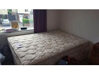 Silentnight double divan base and mattress
