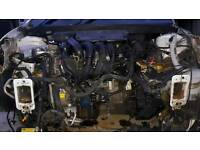Ford fiesta zetec 1.6 engine and gearbox