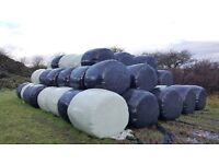 Large round bales - silage and haylage