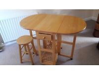 Dining table plus stools Can deliver