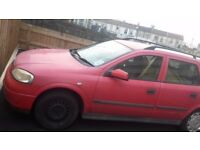 03 Vauxhall Astra club estate 1.6