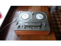 TANDBERG tape deck Reel to reel series 15 fully working in rosewood case with lid