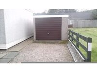 concrete sectional garage for sale, approx 6x3 mtr,buyer to dismantle and remove.