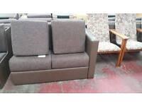 3/4 sofa bed + puff