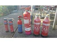 Boat fire extinguishers