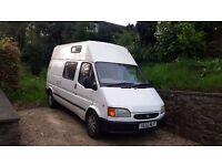 Transit Campervan / day van. 2 birth ideal sports or festival van banana engine classic
