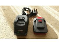 18v Battery and Charger for Parkside Cordless Drill PSBSA 18-Li A1. Borehamwood, Hertfordshire