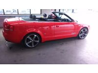 2007 Audi A4 Cabriolet Convertible S Line Diesel 2.0 TDI