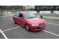 PEUGEOT 306 2.0 HDi 90 Meridian 5dr [AC] (red) 2001