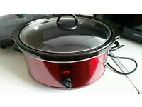 Crofton red 3.5 L slow cooker